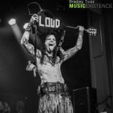 Chuck Garric of Beasto Blanco 7/19/18 (Photo by Bradley Todd)