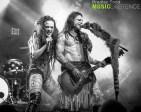 Calico Cooper & Chuck Garric of Beasto Blanco 7/19/18 (Photo by Bradley Todd)
