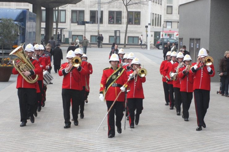 Military-Marching-Band