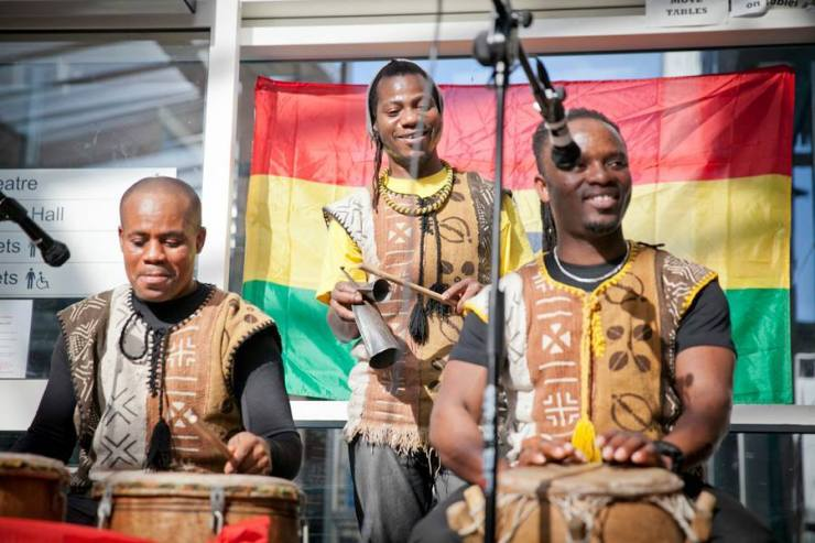 Ghanaian Master Drummers