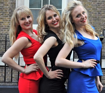 The Blondes Female Jazz Trio