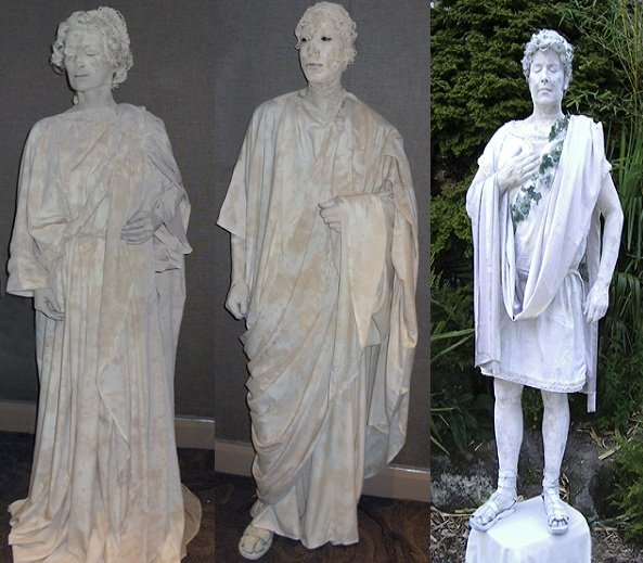 Stand Alone Statues