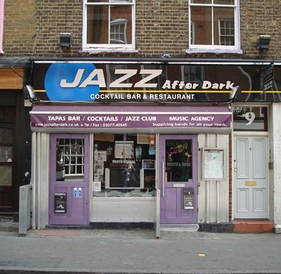 Jazz After Dark - Live Jazz Venue In Soho