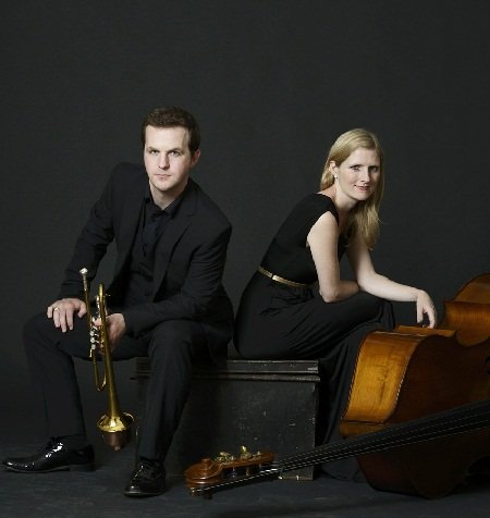 Trumpet and Bass Jazz Duo