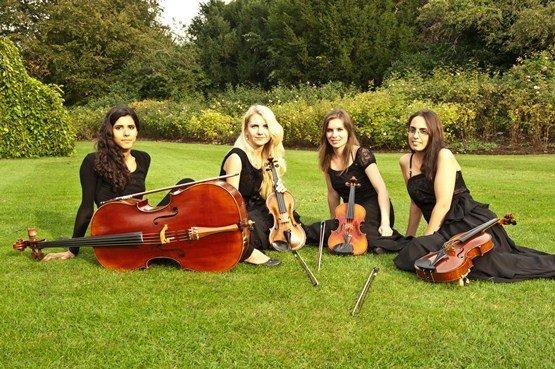 Bollywood String Quartet in London