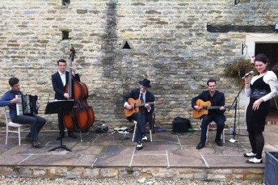 The London Manouches Gypsy Jazz Band