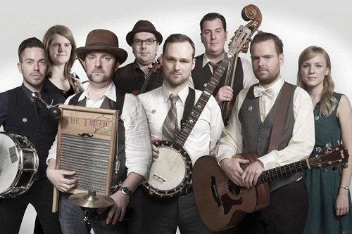 7-8 Piece Folk & Jazz Band