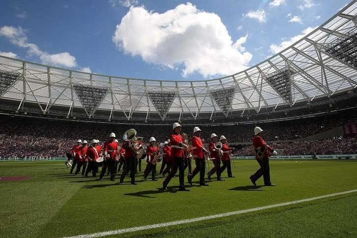 MFL Brass Band West Ham FC Stadium
