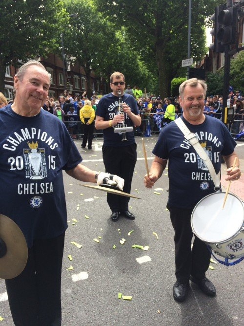 Mr Tony Howard (Right) - Chelsea FC Victory Parade