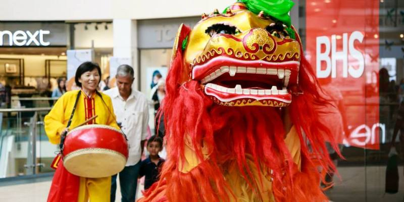 Chinese Lion Hire London