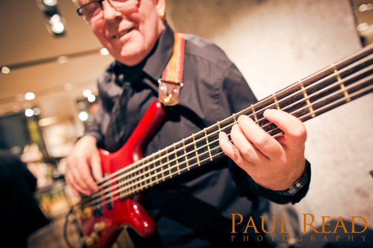 Jazz-Bassist-London