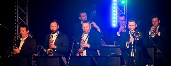 10 Piece Swing Band For Hire In London