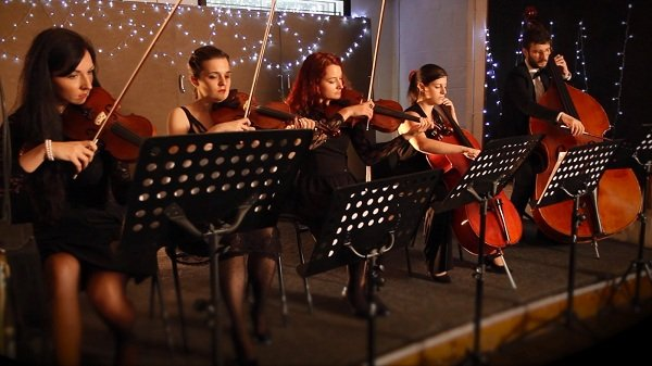 Gospel Choir with String Accompaniment
