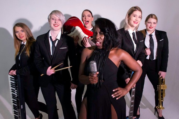 Book An All Star Female Function Band in London - Music for London