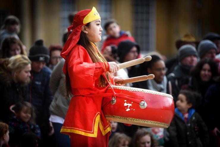 Guan-Yin-Chinese-Lion-Dance-Drummer-London
