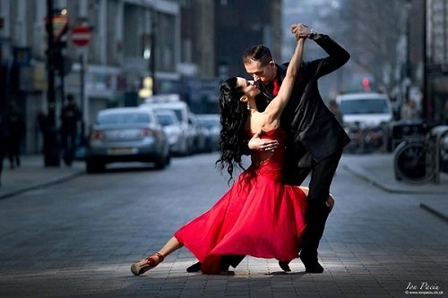 Hire Tango Dancers in London - Music for London