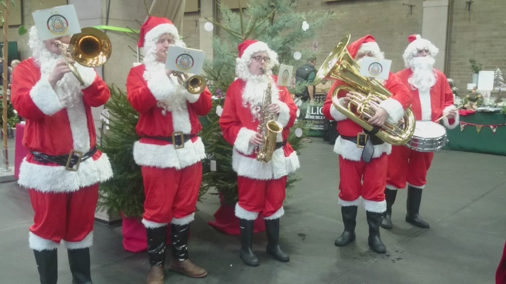 Brass Band Christmas Entertainers in London.