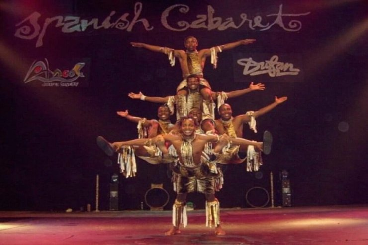 Kenyan Acrobats in London for Hire - Music for London