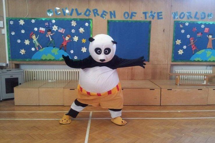 Shaolin Kung Fu Panda - Music for London
