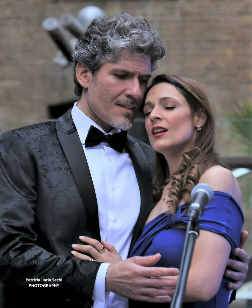 Italian Lyic Tenor with Soprano Singer