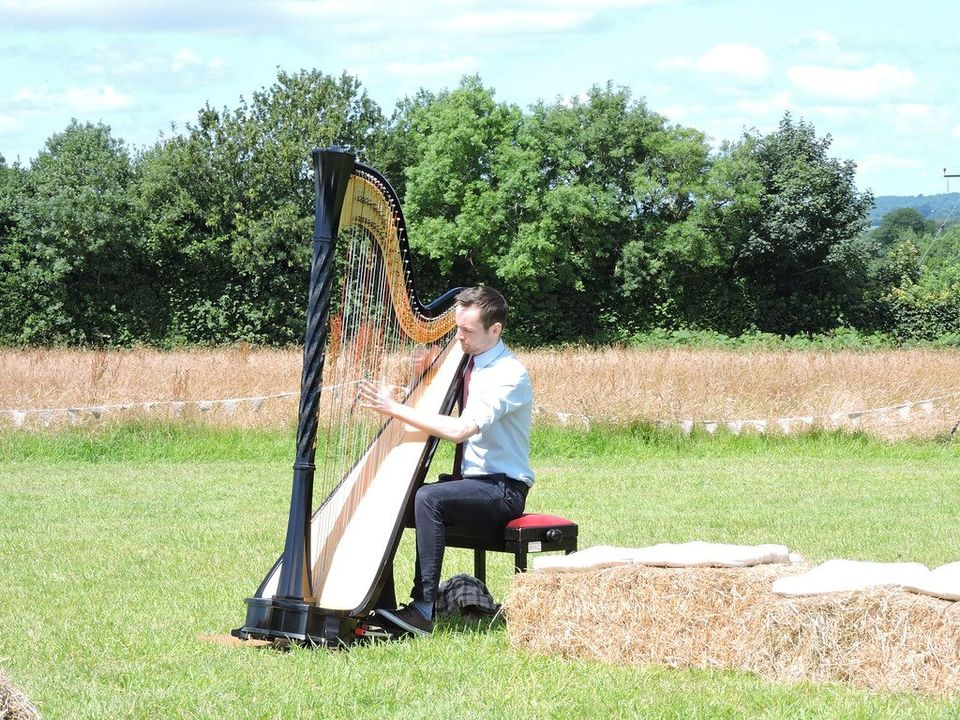 harpist from South London