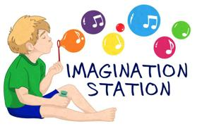 Imagination Station weekly children's music classes at The Forge