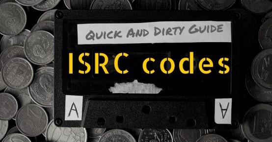 embedding isrc codes