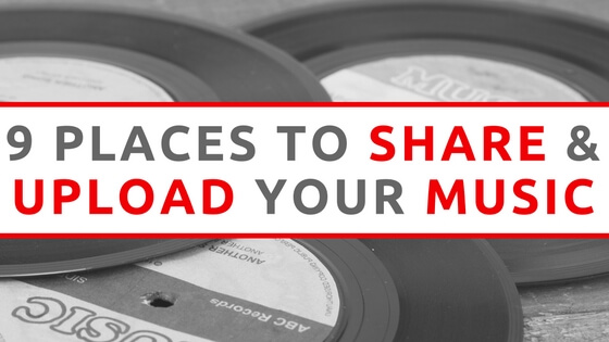 share and upload music