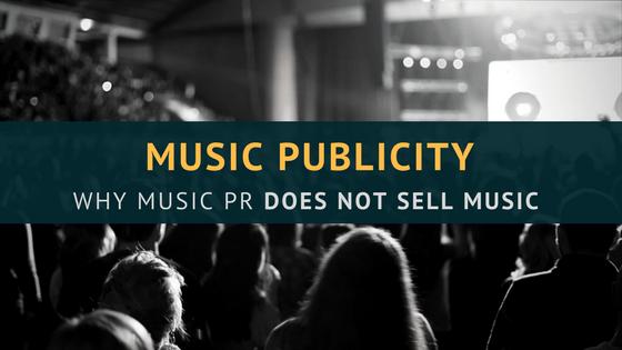 music pr sell music
