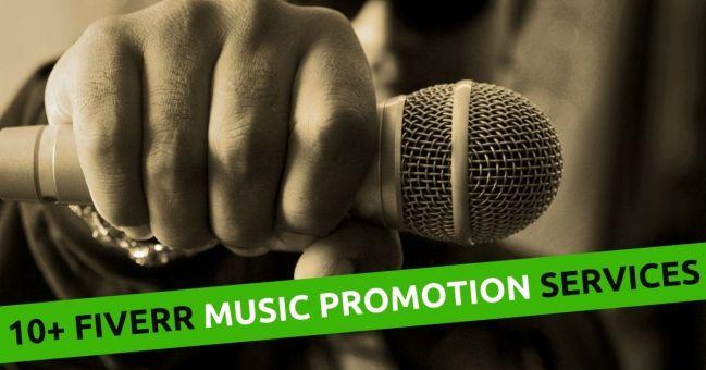 fiverr music promotion