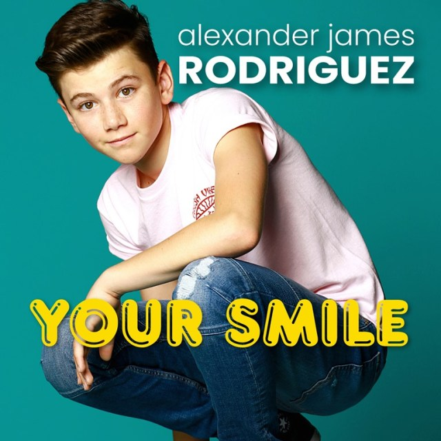 Young Love with a majestic Pop soundtrack and fun packed cinematic music video, actor-recording artist 'Alexander James (AJ) Rodriguez' is already thrilling global streaming fans with his happy 'Your Smile' debut music video.