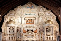 Our 1922 Mortier Dance Hall Organ is beautiful to see and amazing to hear on our docent led tours.