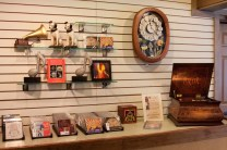 The gift shop is filled with wonderful musical themed items.