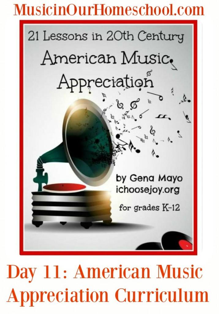 21 Lessons in 20th Century American Music Appreciation graphic
