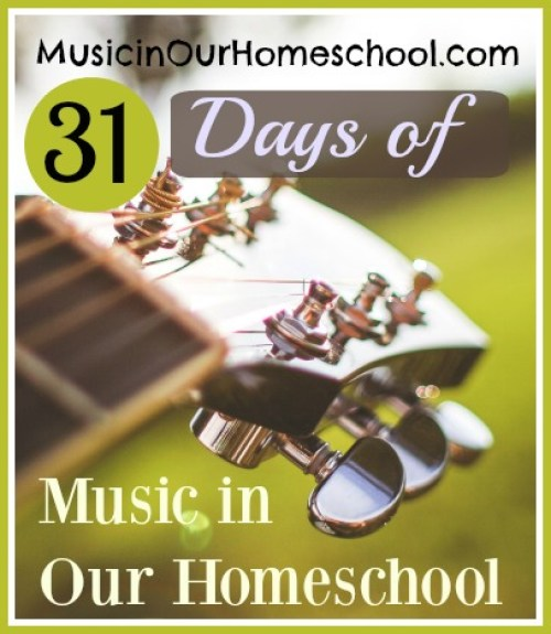 31 Days of Music in Our Homeschool ~ 31 music education articles about music ed tips, music curriculum resources, and more to help you include music in your homeschool! #musicinourhomeschool #musiceducation #musiclessonsforkids #homeschoolmusic
