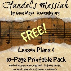 Handel's Messiah Printable Pack