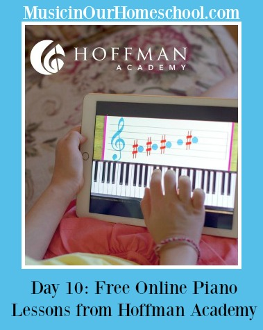 Hoffman Post for Music In Our Homeschool graphic