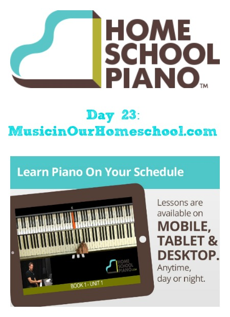 HomeSchoolPiano for at-home lessons