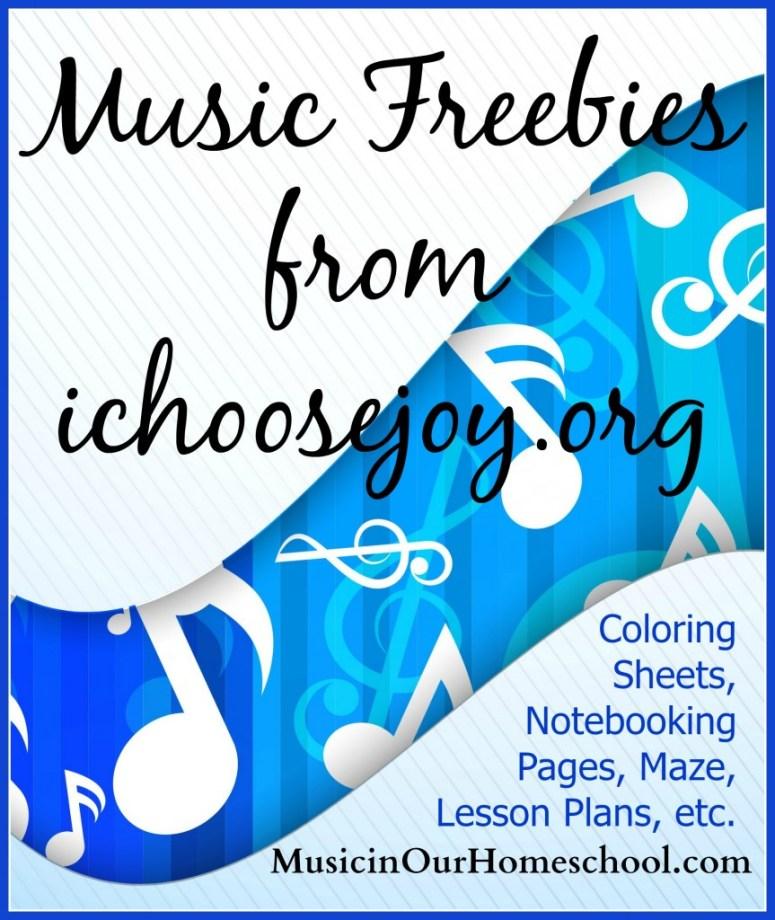 Music Freebies from I Choose Joy!