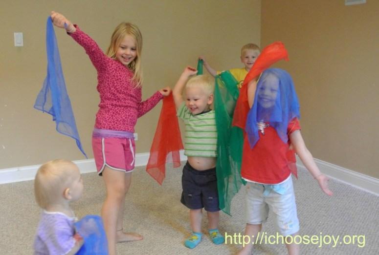 Music-for-Preschoolers-Scarves