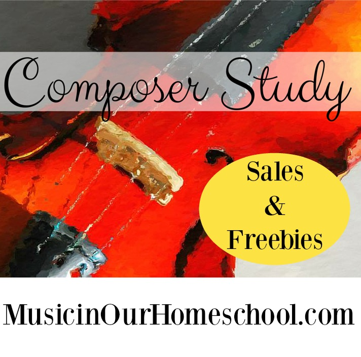 Composer Study Sales and Freebies