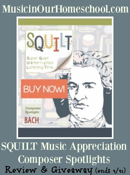 SQUILT Composer Spotlights Bach review & giveaway