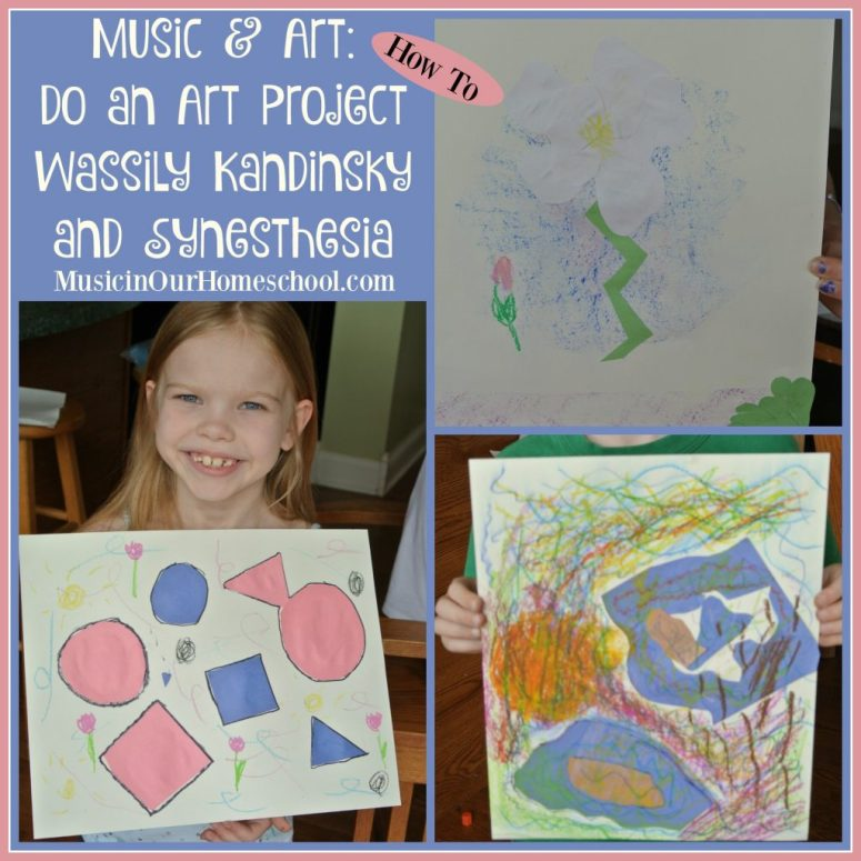 How to do an art project on Wassily Kandinsky and Synesthesia