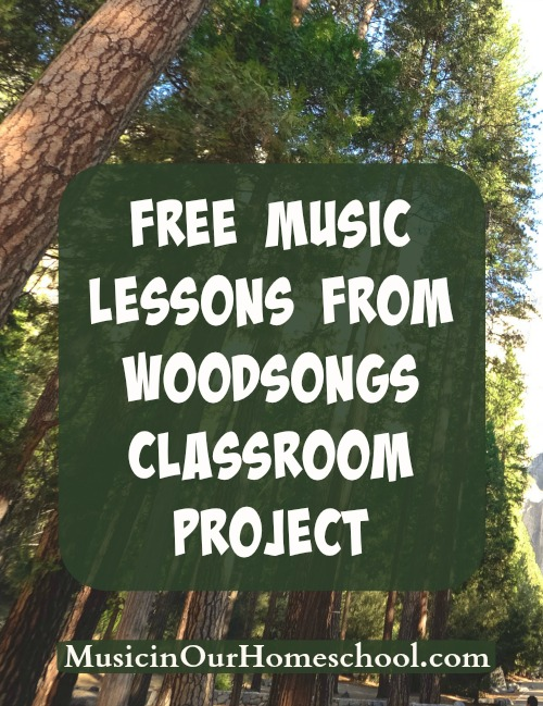 Free Music Lessons from WoodSongs Classroom Project