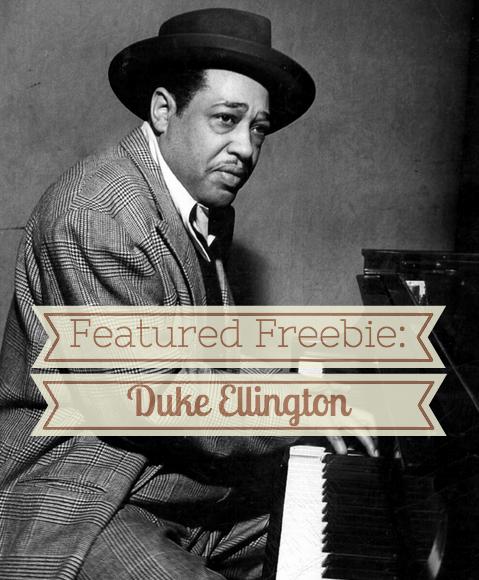 Free online lesson about Duke Ellington