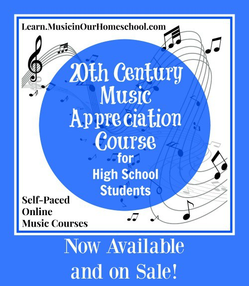 Get the 20th Century Music Appreciation Course for High School. self-paced, online
