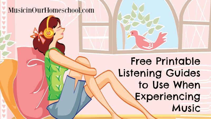 Free Music Listening Printables