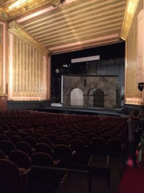 Chicago Lyric Opera theater backstage tour