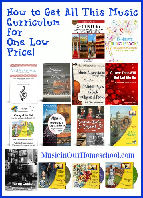 Music Curriculum in Build Your Bundle Sale