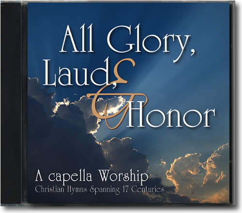 All Glory, Laud, and Honor CD from Diana Waring, 14 hymns from 15 centuries
